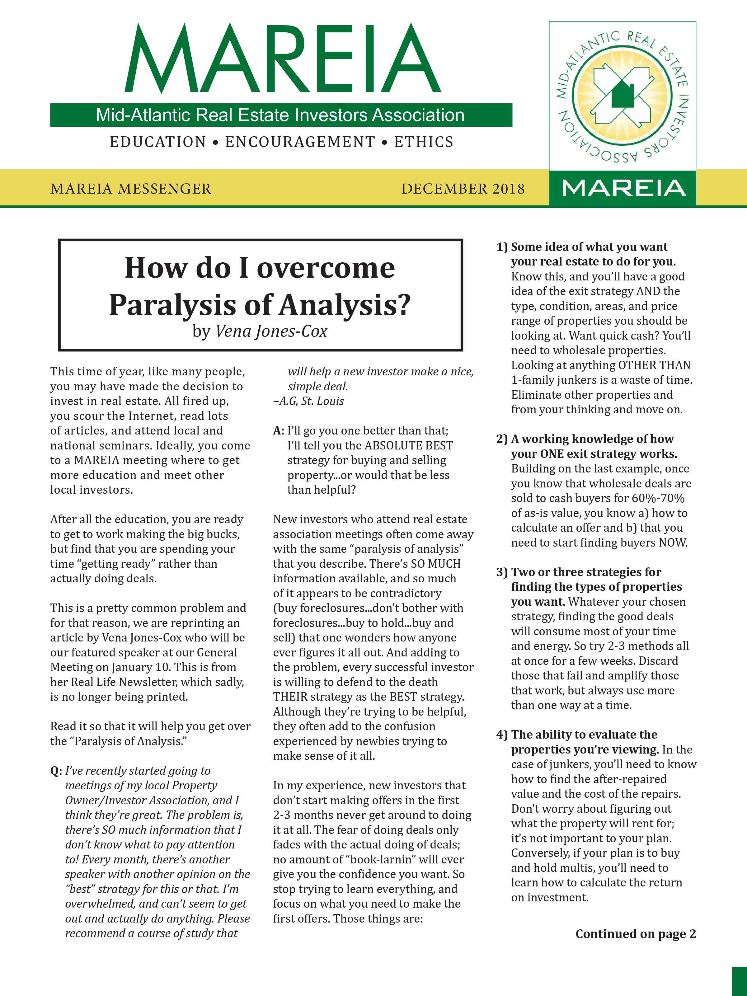 MAREIA | MAREIA Newsletters